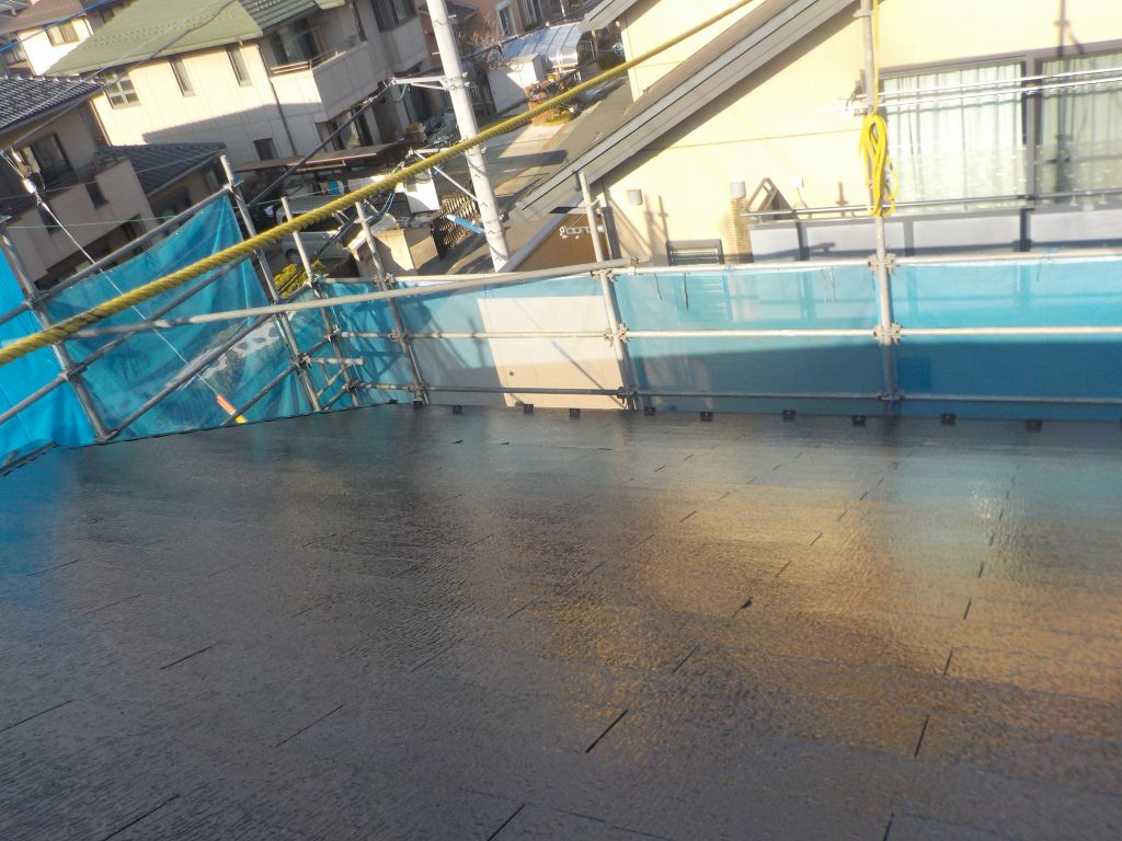 屋根塗装(遮熱)
