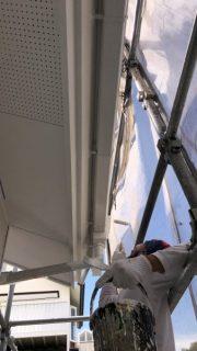 八王子市で外壁塗装と破風板交換