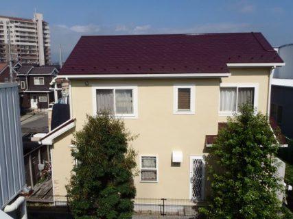 厚木市で外壁サイディングと屋根塗装