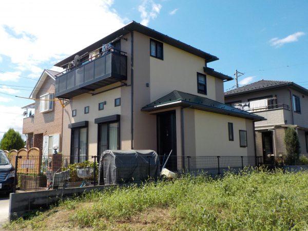 相模原市で外壁と屋根遮熱塗装