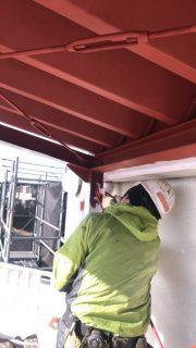 【施工中!】工場屋根塗装工事