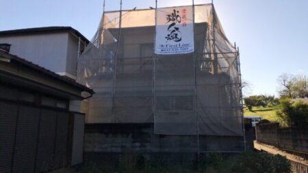 【更新中】八王子市小比企町で外壁、屋根塗装
